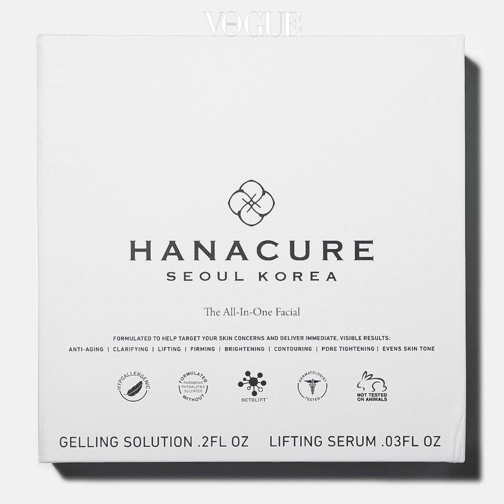 제품을 자세히 보세요. 'Seoul Korea'라는 반가운 영문이 보이죠? 맞습니다. 하나큐어(Hanacure)는 미국 캘리포니아에서 탄생했지만, K-뷰티를 기반으로 만들어진
