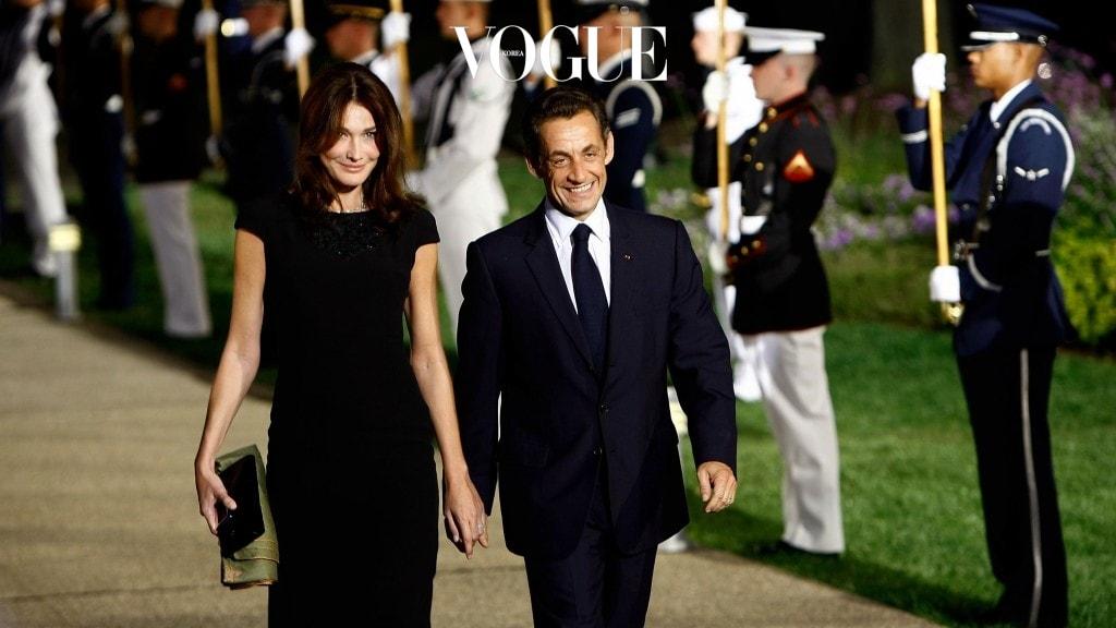 카를라 브루니와 니콜라 사르코지(Carla Bruni Nicolas Sarkozy)