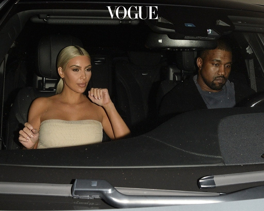 Kim Kardashian and Kanye West Leave a Private Dave Chapelle Performance at Peppermint Pictured: Kim Kardashian, Kanye West Ref: SPL1575661  120917   Picture by: All Access Photo / Splash News Splash News and Pictures Los Angeles:310-821-2666 New York:212-619-2666 London:870-934-2666 photodesk@splashnews.com