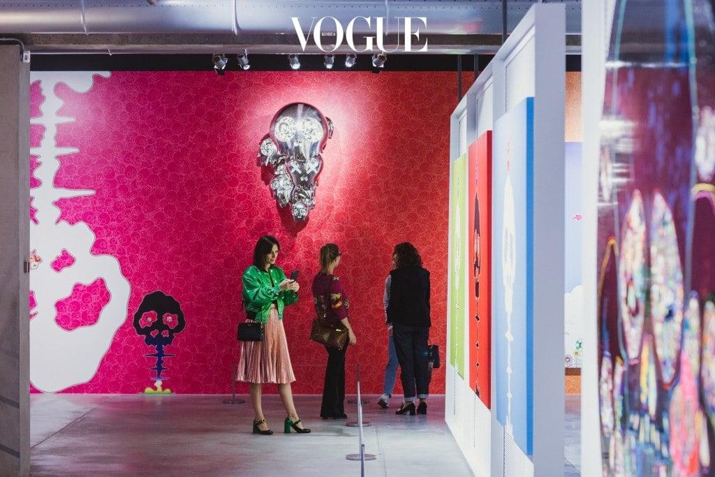 Takashi Murakami  exhibition opening  Photo: Anton Donikov, Julia Mayorova, Serge Outrush, Dmitry Shumov, Nikolai Zverkov  © 2017 Garage Museum of Contemporary Art