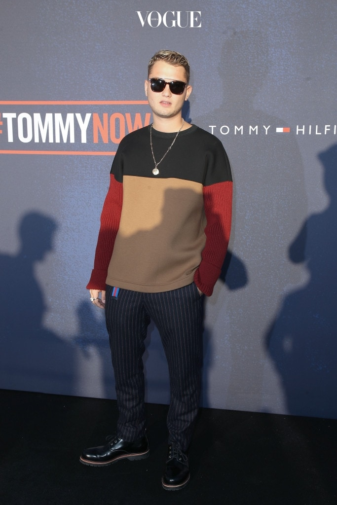 LONDON, ENGLAND - SEPTEMBER 19:  Rafferty Law attends the Tommy Hilfiger TOMMYNOW Fall 2017 Show during London Fashion Week September 2017 at the Roundhouse on September 19, 2017 in London, England.  (Photo by Mike Marsland/Getty Images for Tommy Hilfiger)