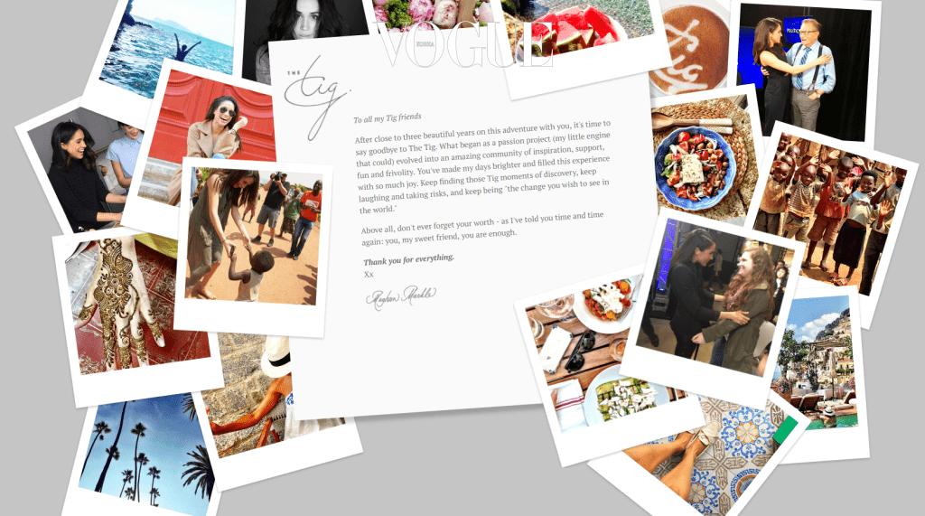 마클은 패션, 뷰티, 여행, 음식을 다루는 라이프스타일 블로그 를 운영하기도 했습니다. 그녀는 블로그에서 이렇게 말한 적이 있죠.
