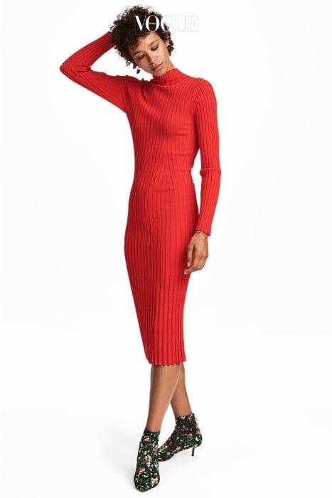 니트 드레스. H&M 제품. 8만9천원