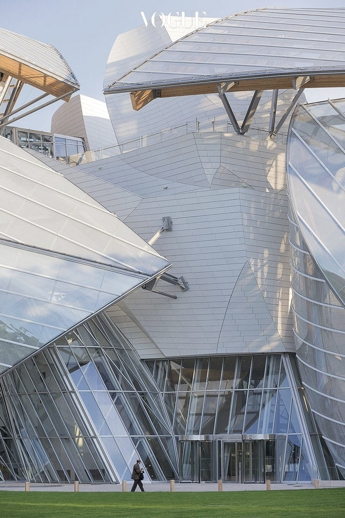 Fondation Louis Vuitton. © Gehry Partners, LLP and Frank Gehry. Photo by Iwan Baan(2014)