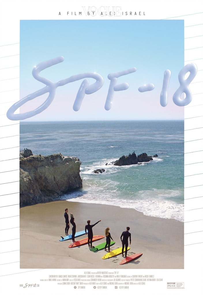 SPF-18 Poster. Courtesy of Alex Israel