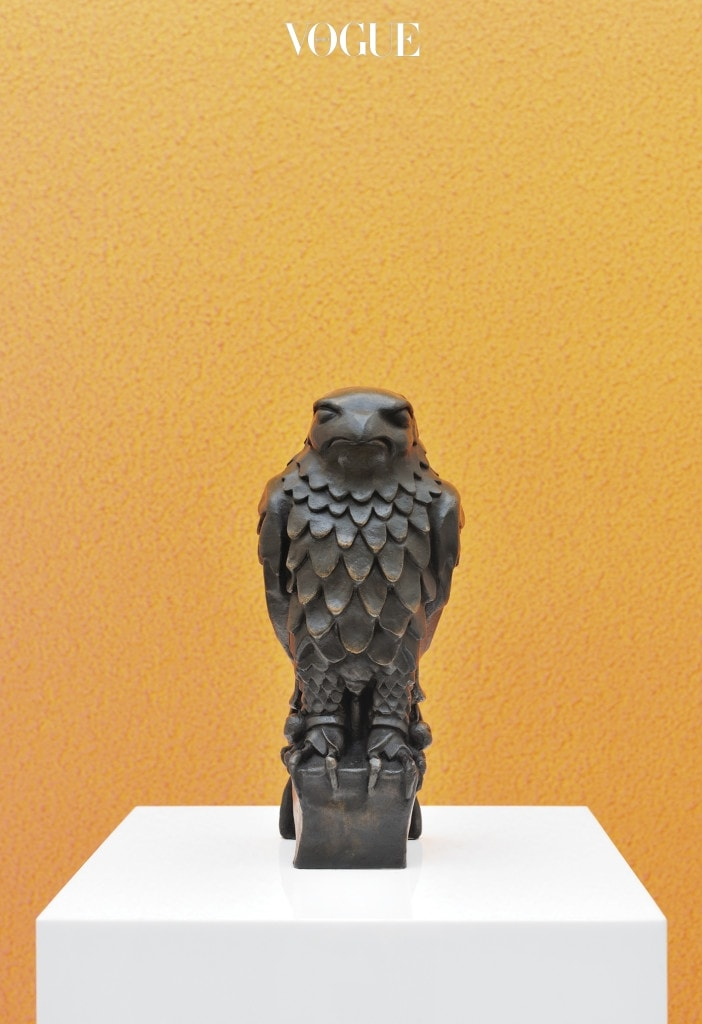 Maltese Falcon, 2013, Bronze. Photo by Rebecca Fanuele