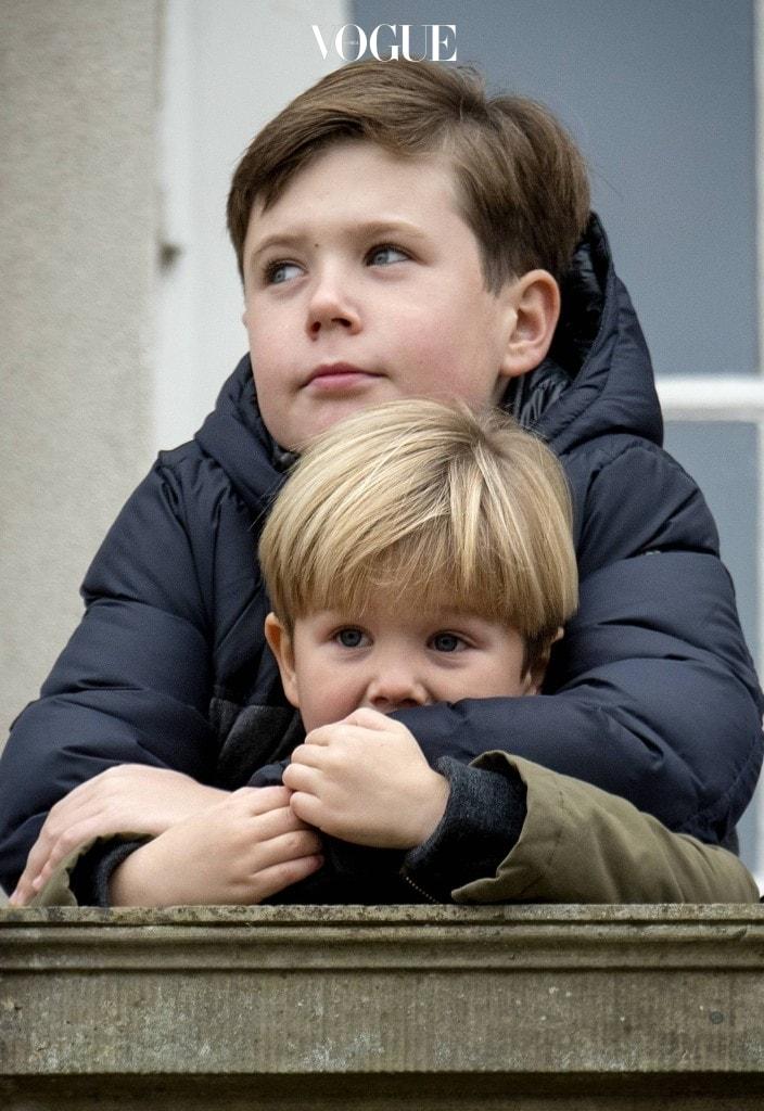 형제들의 사랑을 듬뿍 받는 막둥이, 빈센트 왕자.