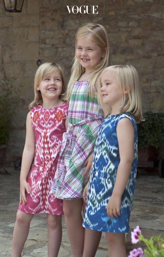 어느새 훌쩍 커버린 세 자매.