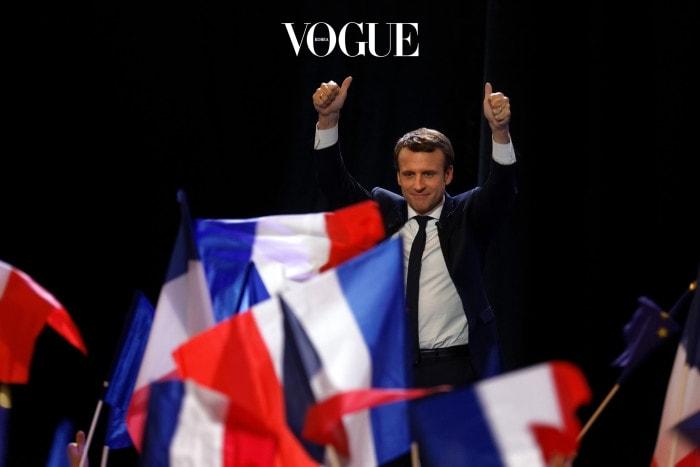 프랑스의 최연소 대통령이자, 최연소 사랑꾼. 브라보!
