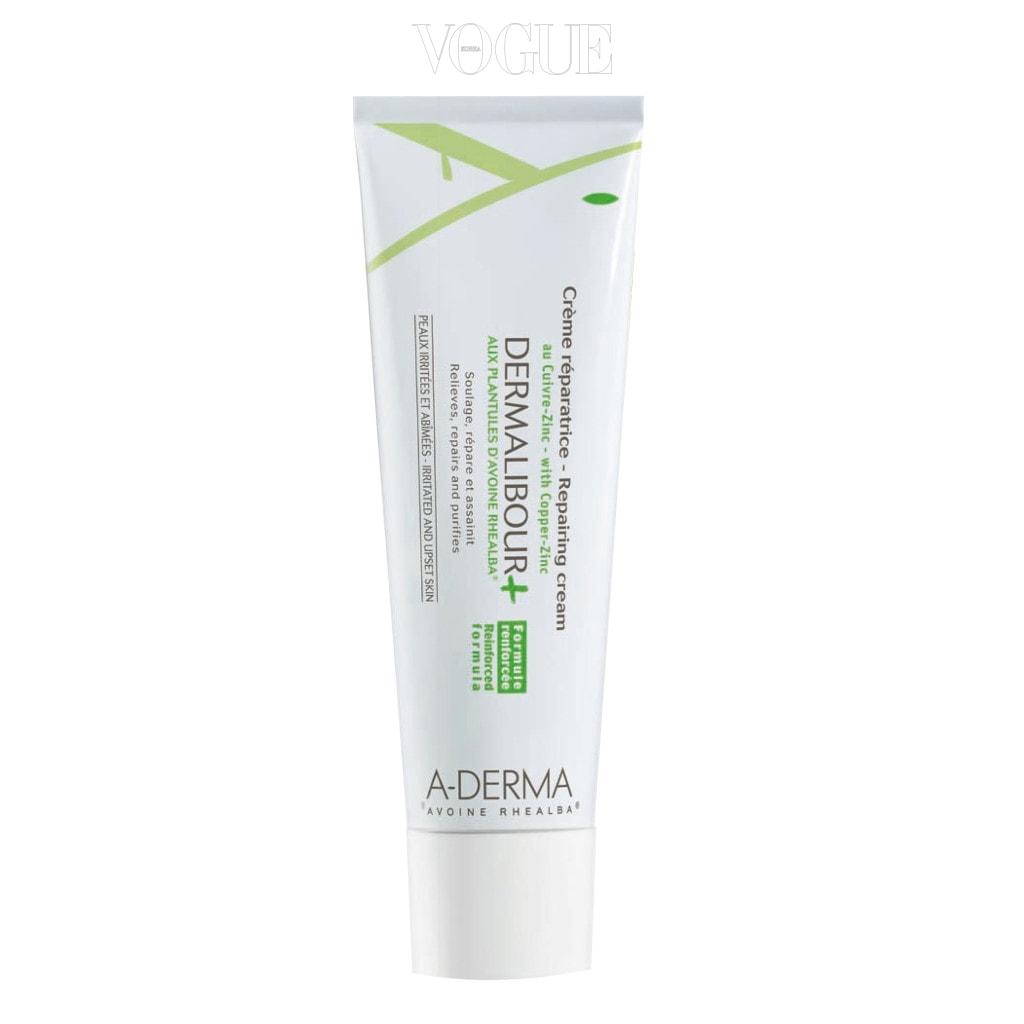 아더마 더말리부+ 크렘 레파라트리스. 자극 받고 손상된 피부에 즉각적인 진정 효과를 부여한다.가격 2만원.
