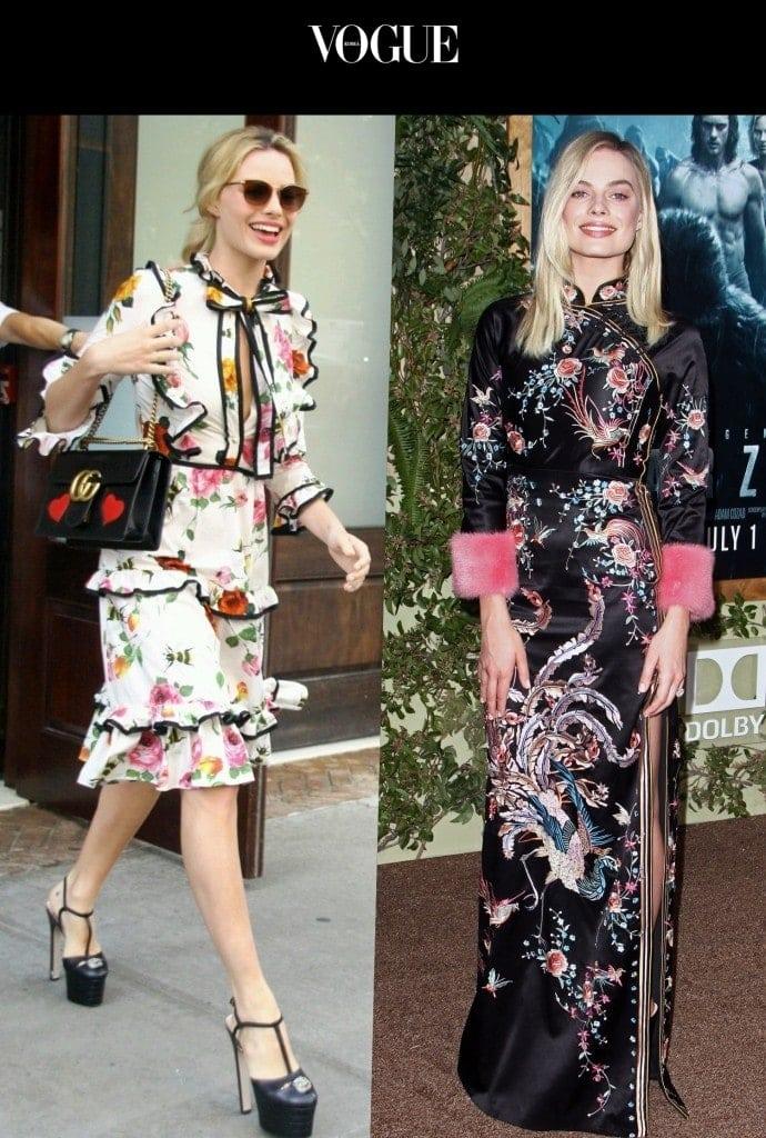 평상시는 물론 특별한 날까지 자신이 추구하는 스타일을 한 번에 표현할 수 있는 브랜드로 도배하는 사람들! 마고 로비 Margot Robbie