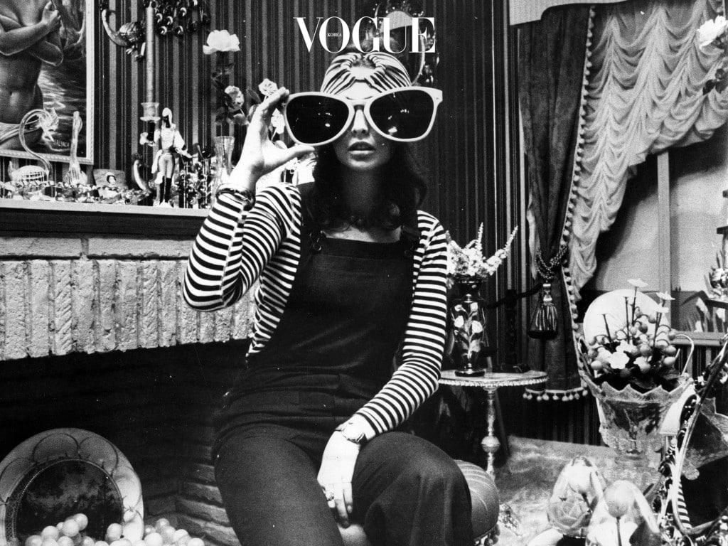 이에 대한 대답으로 패션 피플들이 일제히 선택한 것이 바로 선글라스!