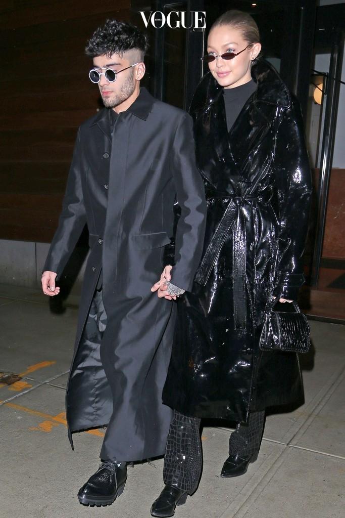 그녀의 남친 제인 말릭과 함께 한 스몰 선글라스 커플 룩! Gigi Hadid & Zayn Malik