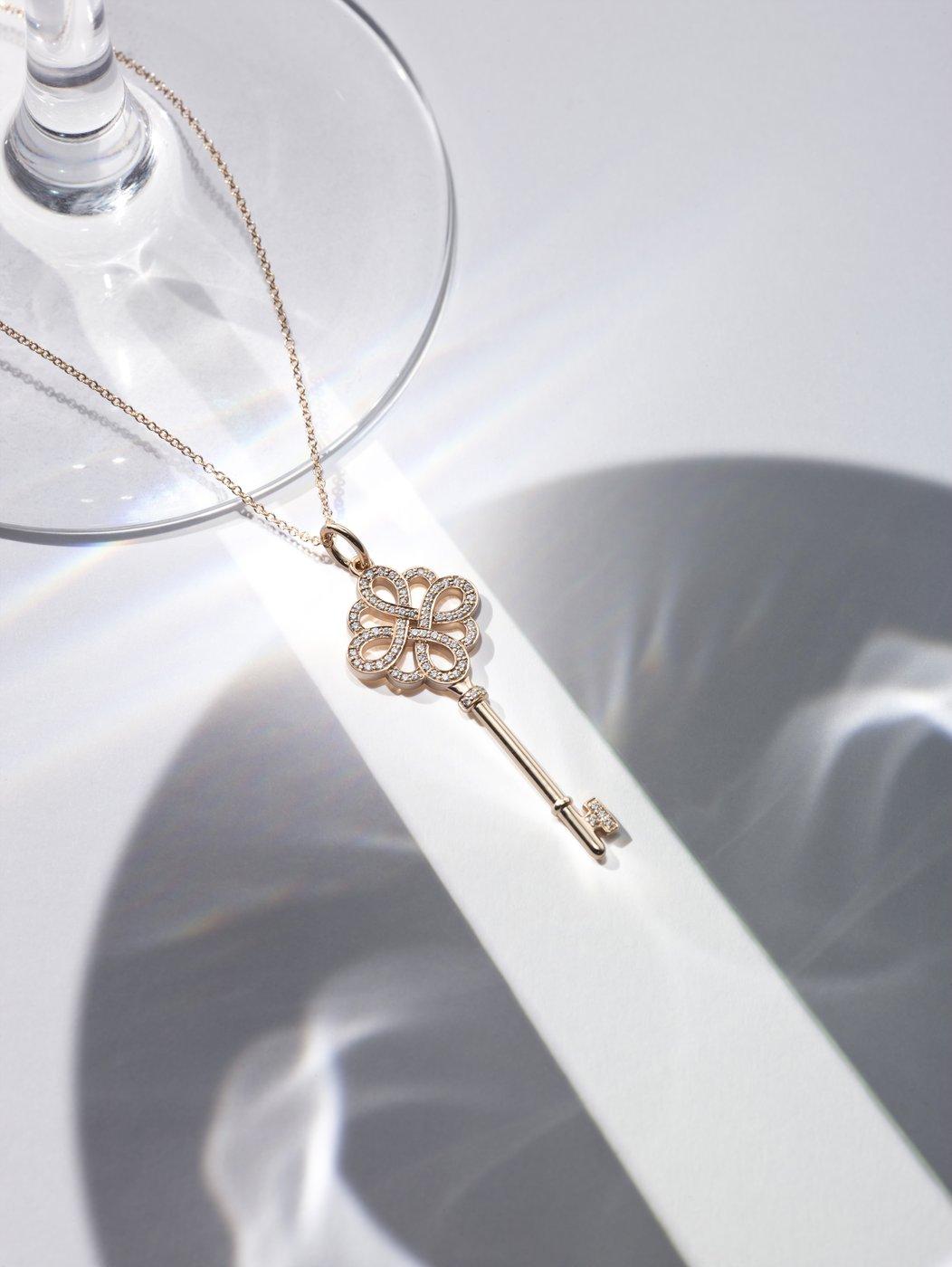 티파니 다이아몬드 노트 키