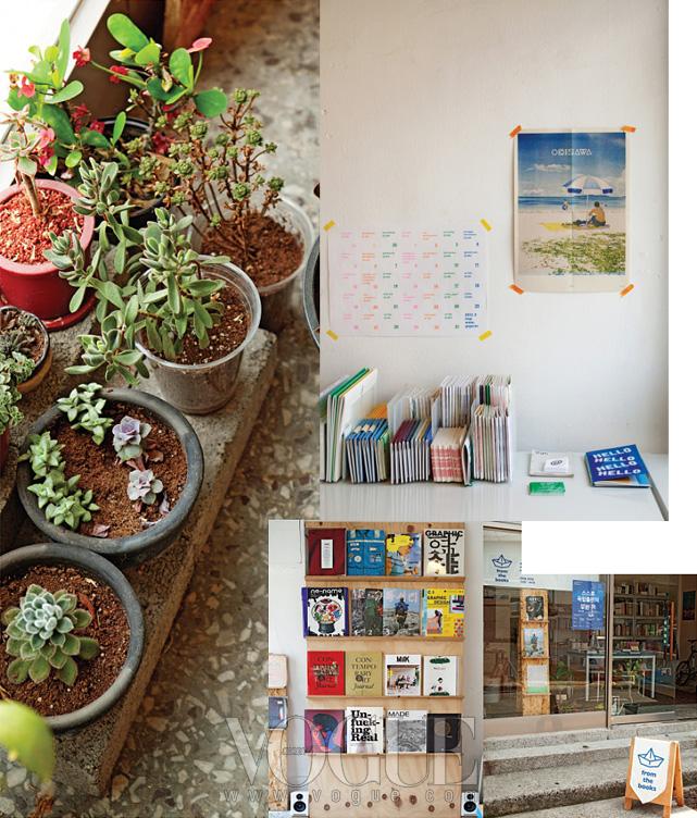 다양한 독립 출판물을 만날 수 있는'프롬 더 북스'의 풍경.