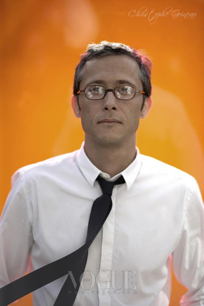 에르메스 남성 실크를 담당하고 있는 크리에이티브 디렉터, 크리스토프 궈누.