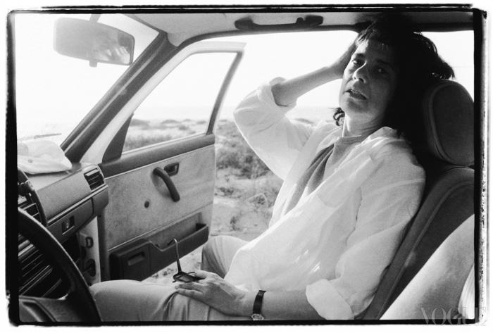 멕시코 여행 중에 찍은 수잔 손탁(1989).