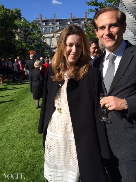 클로에의 클레어 웨이트 켈러와 그녀의 남편인 미국 건축가 필립 켈러. ⓒ Suzy Menkes
