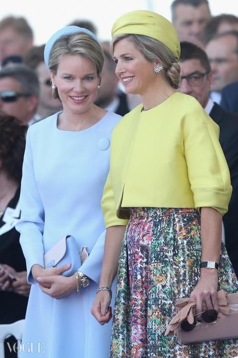 네덜란드의 막시마 왕비와 벨기에의 마틸데 왕비가 이달 초 한 행사에 함께 참석했다.
