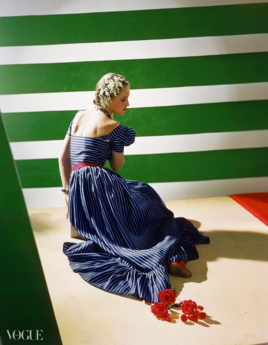 1939년, 해티 카네기(Hattie Carnegie)가 디자인한 드레스. ⓒ Condé Nast Horst Estate