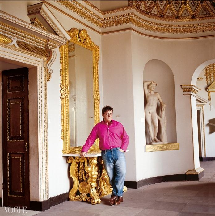 알버 엘바즈(Alber Elbaz), 2003. ⓒ Snowdon
