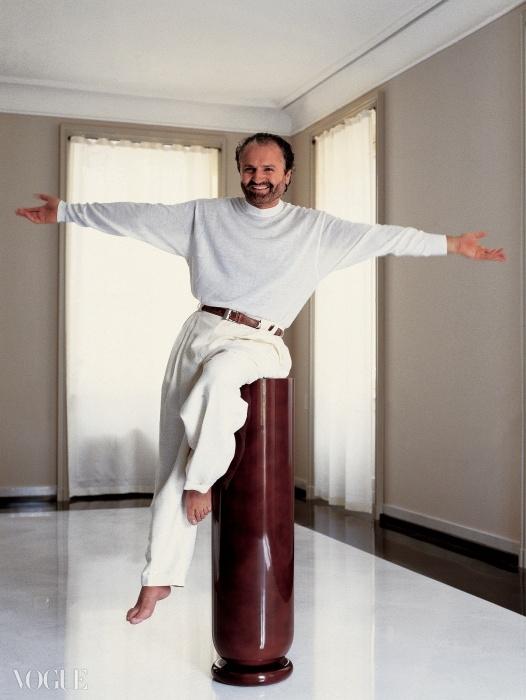 지아니 베르사체(Gianni Versace), 1990. ⓒSnowdon