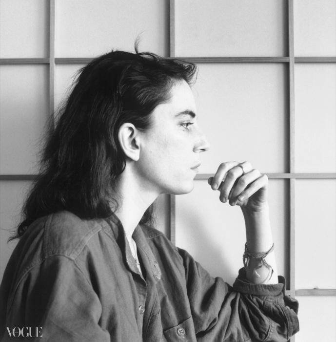 패티 스미스(Patti Smith), 1979. 로버트 메이플소프. 은 젤라틴 사진. 40.6 x 50.8 cm (16 x 20 in). RMP 1278© 로버트 메이플소프 재단. 코더시 갤러리 타데우스로팍 파리/잘츠부르크