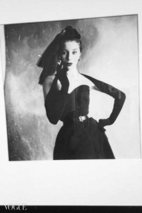 미국 <보그>에 실린 베티나, 1950© 어빙팬