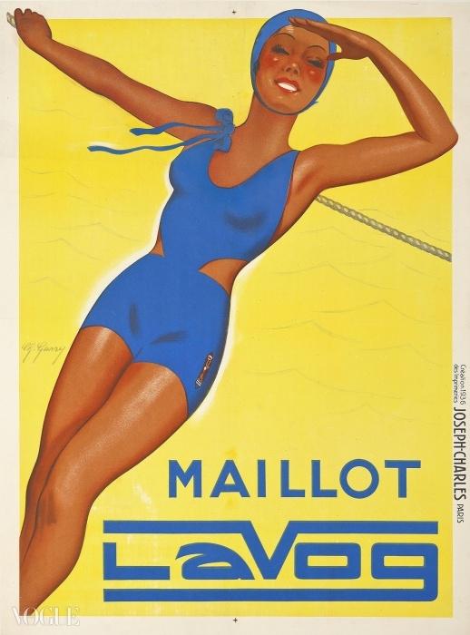 G. 게리(G. Garry.) Maillot Lavog. 입찰 시작 가격: £600 ⓒ Christie's Images Ltd. 2014