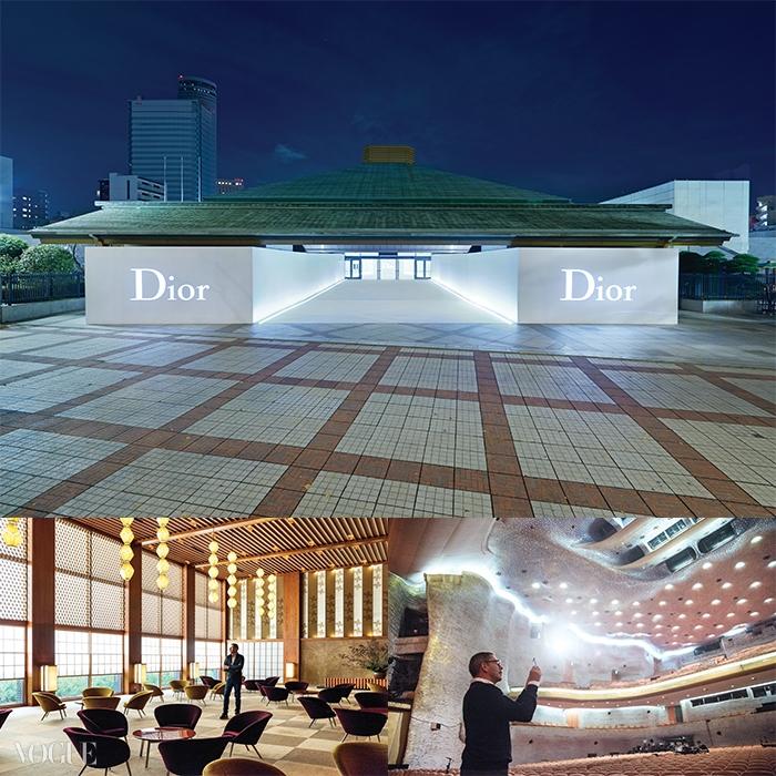 도쿄의 그 유명한 스모 경기장이 디올 패션쇼장으로변신했다! 이곳을 찾은 일본 현지 셀러브리티들과해외 패션 스타들.그리고 보테가 베네타의토마스 마이어는 일본 근대 건축물을 보존하기 위해도쿄 오쿠라 호텔에 들렀다.