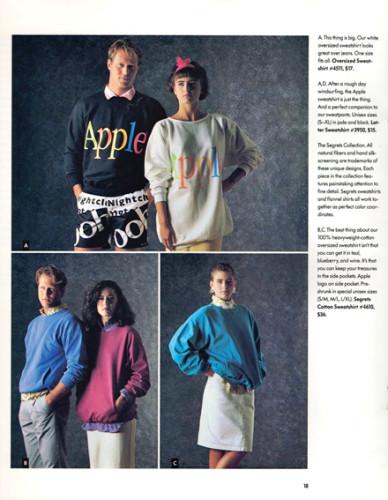 1980's Apple Fashion