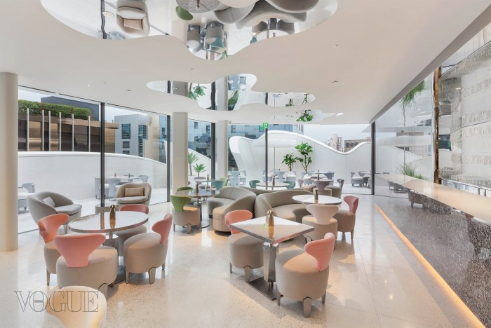 Cafe Dior at House of Dior