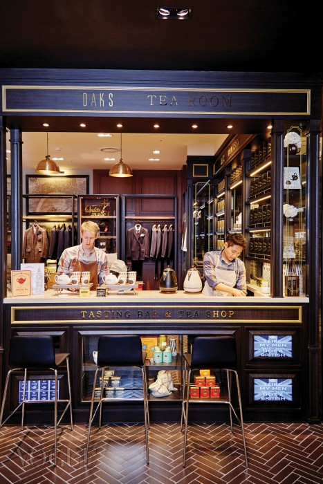 Tea Bar at Daks