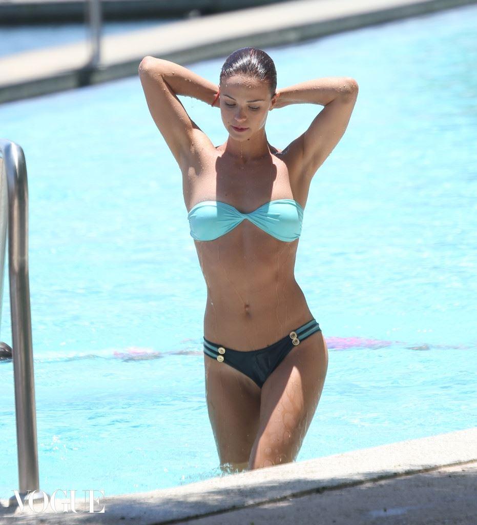 EXCLUSIVE: 'Hi-5' star Lauren Brant poolside