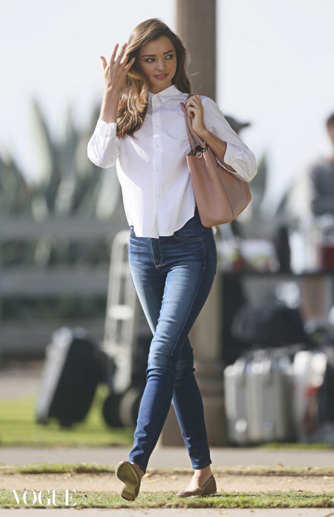 "Miranda Kerr shot a commercial for the Japanese food brand ""Kuro"" in Santa Monica"