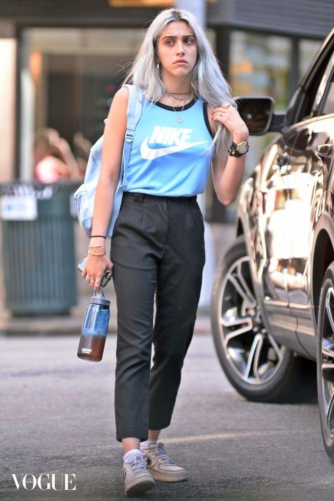 EXCLUSIVE: INF - Lourdes Leon Displays Her Original Fashion Sense