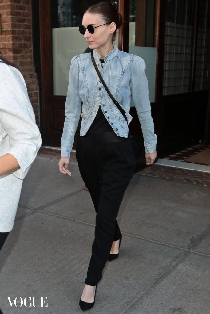 Rooney Mara seen in New York