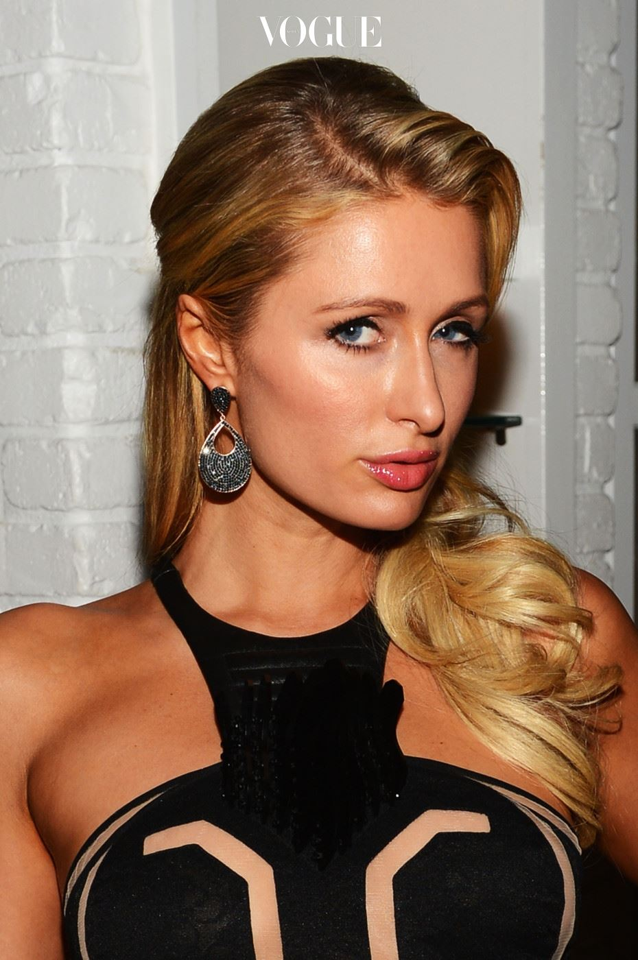 MIAMI, FL - DECEMBER 06:  Paris Hilton attends the Aby Rosen & Samantha Boardman dinner at The Dutch on December 6, 2012 in Miami, Florida.  (Photo by Dimitrios Kambouris/Getty Images for Dom Perignon)