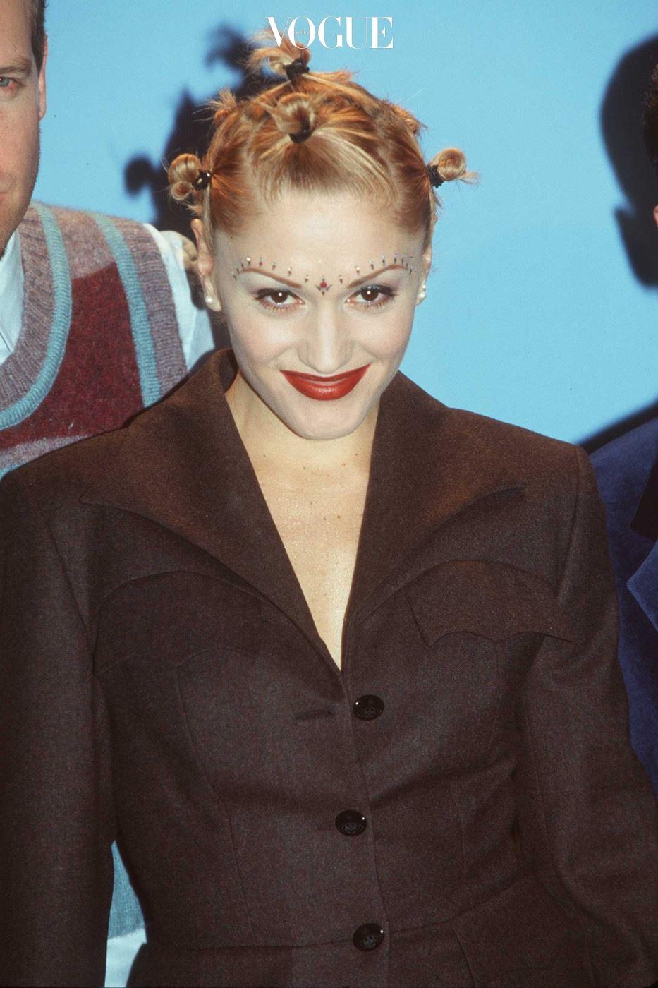 12/8/97 Las Vegas, NV. Gwen Stefani of No Doubt at the 1997 Billboard Music Awards.