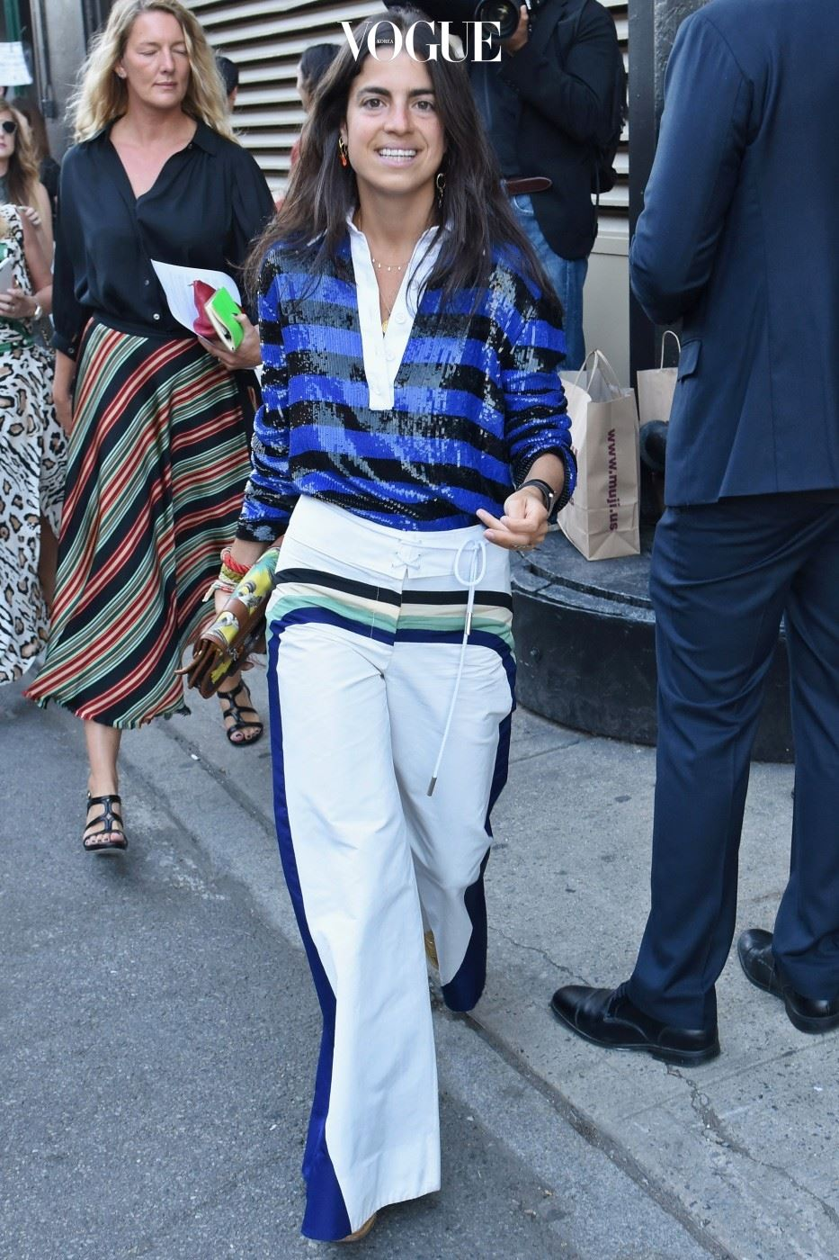Seen Around Spring 2016 New York Fashion Week: The Shows - Day 7