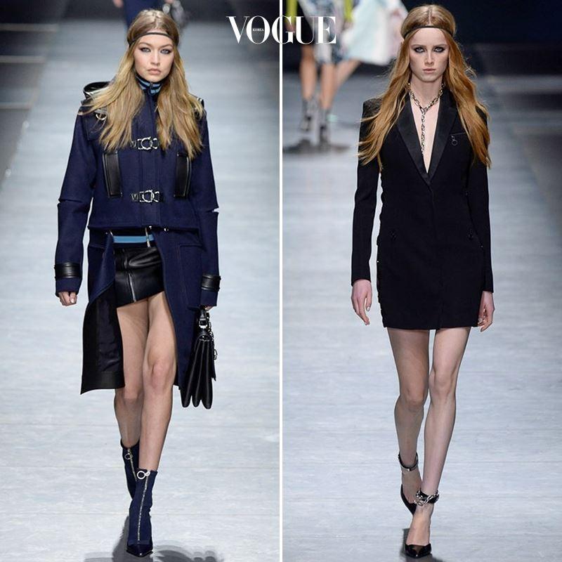 ▲ 사진을 클릭해 Versace 2016 F/W 컬렉션 룩을 모두 감상하세요.