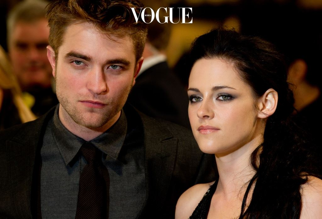 LONDON, ENGLAND - NOVEMBER 16: Robert Pattinson, Kristen Stewart attend the UK premiere of The Twilight Saga: Breaking Dawn Part 1 at Westfield Stratford City on November 16, 2011 in London, England. (Photo by Ian Gavan/Getty Images)
