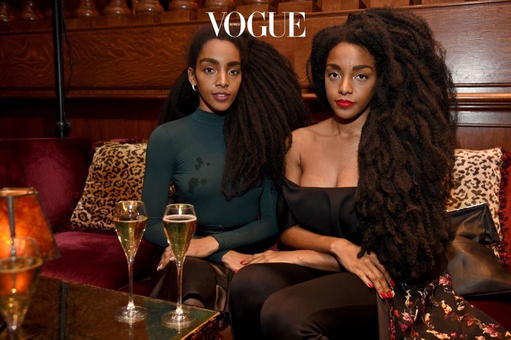 압도적인 드레드락 헤어스타일과 글래머러스한 스타일로 패션계를 매혹시킨 두 명의 여인이 있습니다.