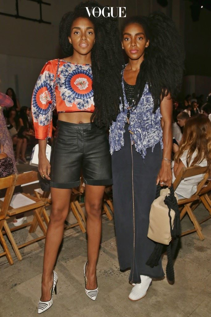 Creatures Of The Wind - Front Row - Spring 2016 New York Fashion Week
