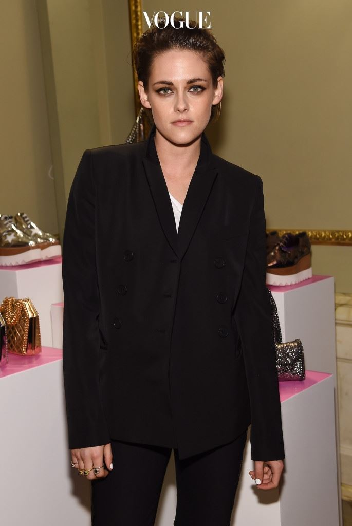 NEW YORK, NY - JANUARY 12:  Actress Kristen Stewart attends the Stella McCartney Autumn 2015 presentation on January 12, 2015 in New York City.  (Photo by Dimitrios Kambouris/Getty Images)