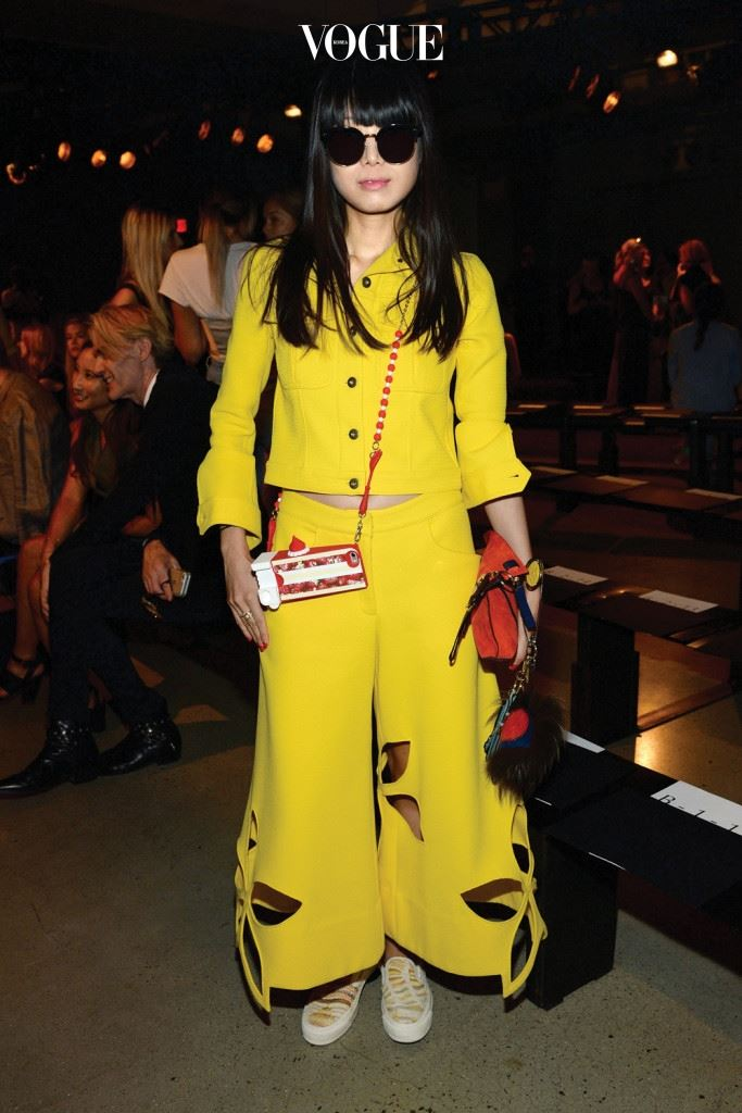 Sally LaPointe - Front Row - Spring 2016 New York Fashion Week