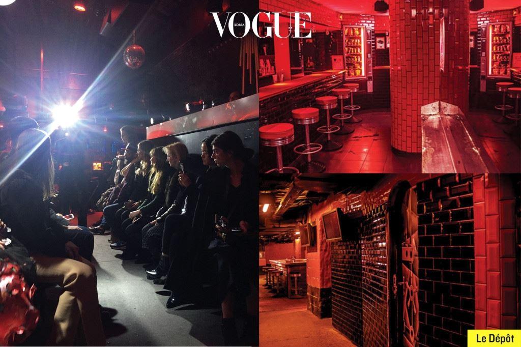 그런가 하면 패션쇼 관객들을 클럽으로 초대하는 것만큼 쿨한 애티 튜드가 또 있을까. 베트멍이란 신드롬의 서막을 알린 건 파리의 유명 게 이 클럽 르 데포(Le Dépôt)에서 열린 2015 F/W 쇼였다.