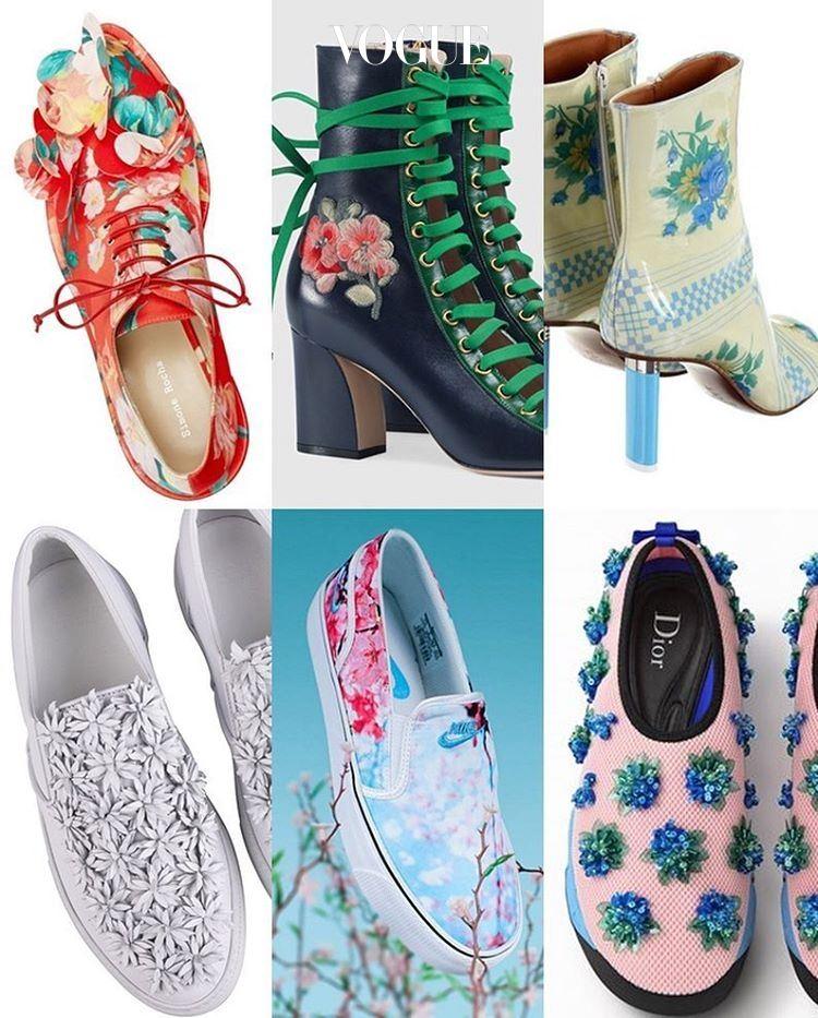 (왼쪽부터 시계방향으로)Simone Rocha, Gucci, Vetements, Dior, Nike, Moncler