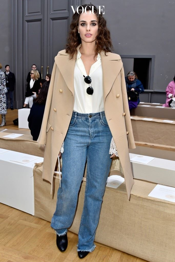 PARIS, FRANCE - MARCH 03:  Sophie Auster attends the Chloe show as part of the Paris Fashion Week Womenswear Fall/Winter 2016/2017 on March 3, 2016 in Paris, France.  (Photo by Pascal Le Segretain/Getty Images)
