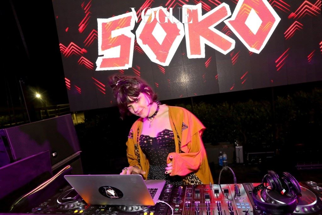 스테파니 소코린스키(Stéphanie Sokolinski), 이름을 줄여 소코(Soko)로 불리는 그녀가.